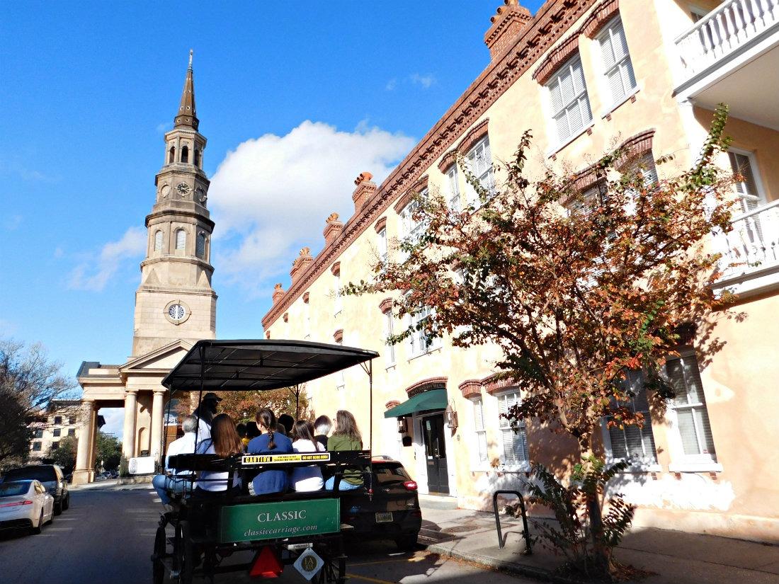 Historic Charleston in South Carolina
