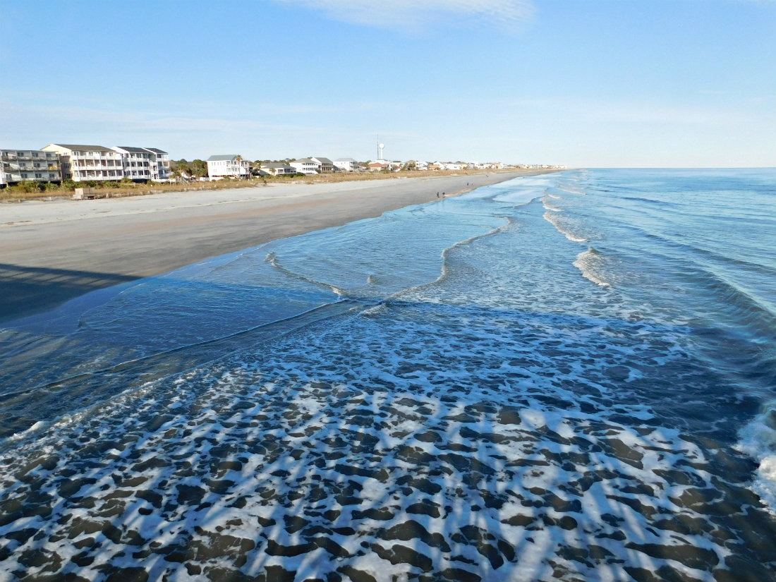 Visiting Folly Beach was one of highlights of month forty two of Digital Nomad Life