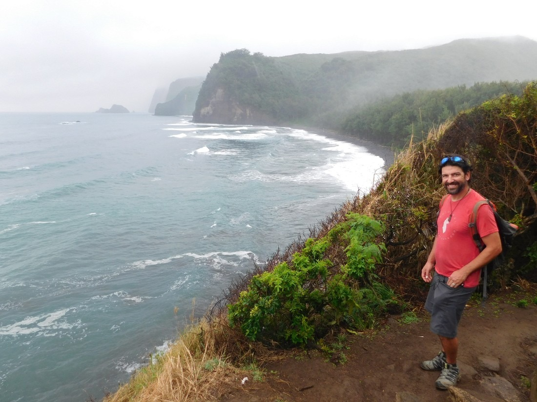 Hiking into Pololu Valley on the Big Island of Hawaii