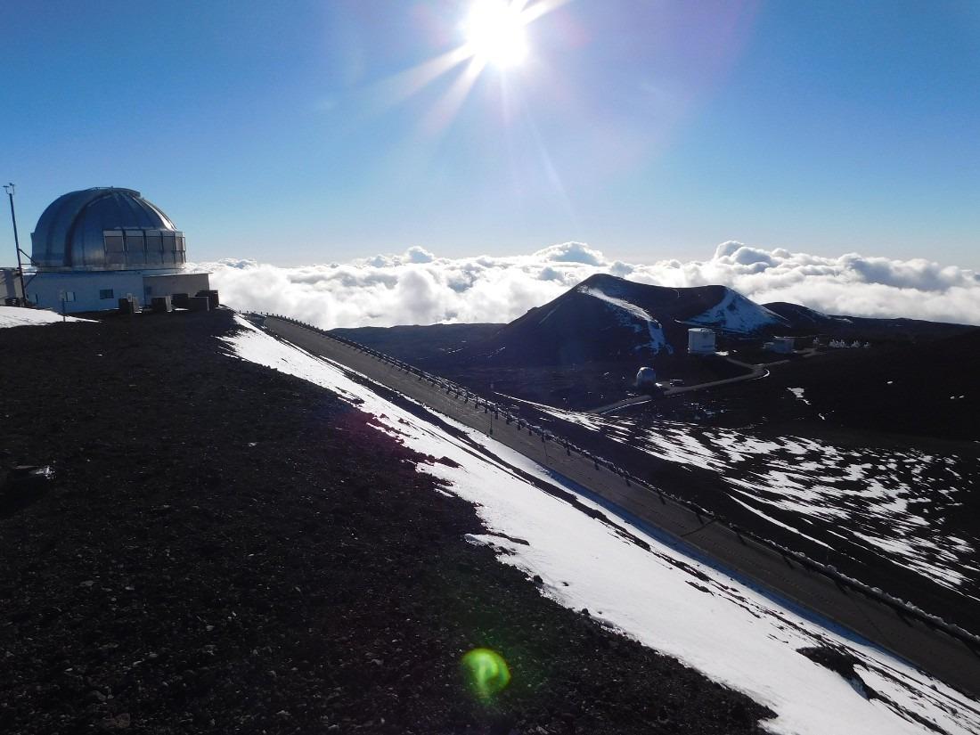 Summit of Mauna Kea on the Big Island of Hawaii