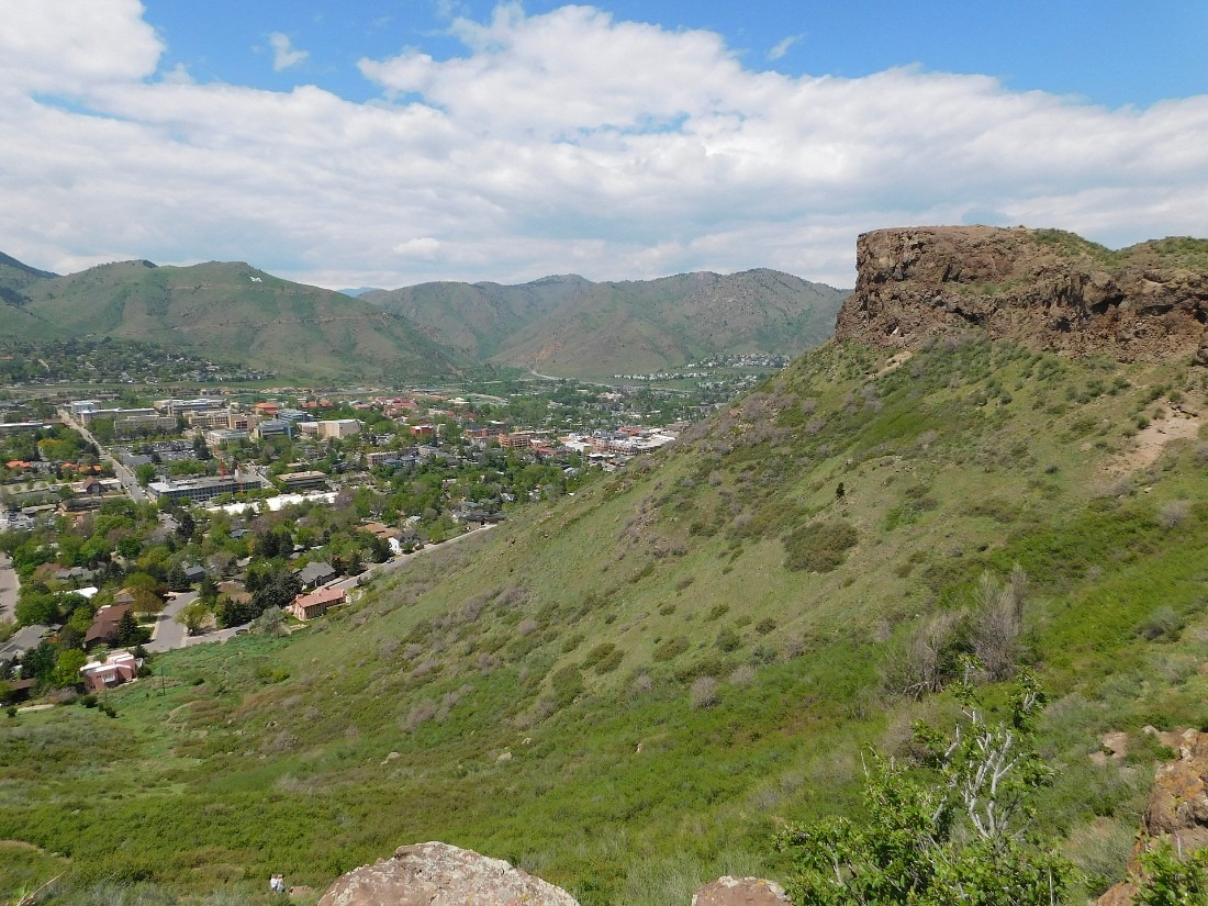 Hiking South Table Mountain in Golden, Colorado