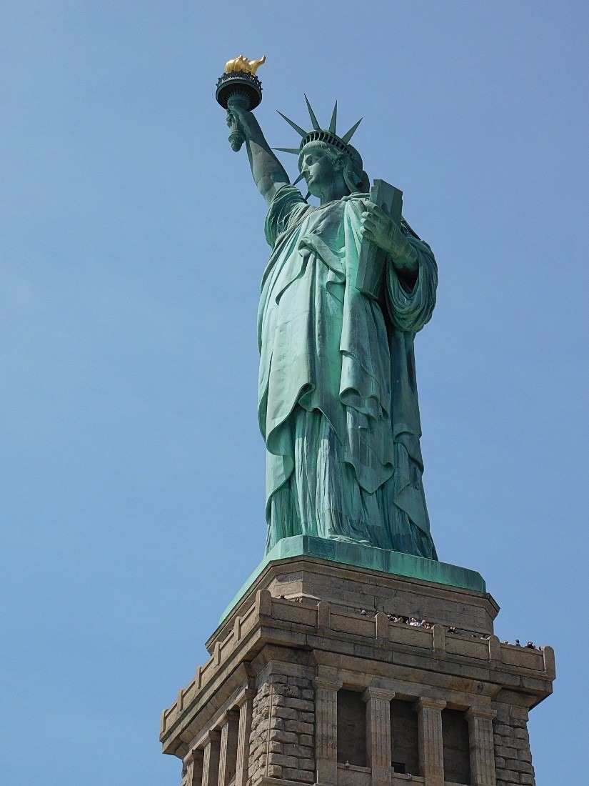 Statue of Liberty from Liberty Island