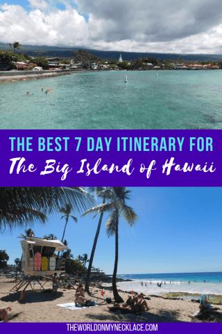 The Best Big Island Itinerary 7 Days