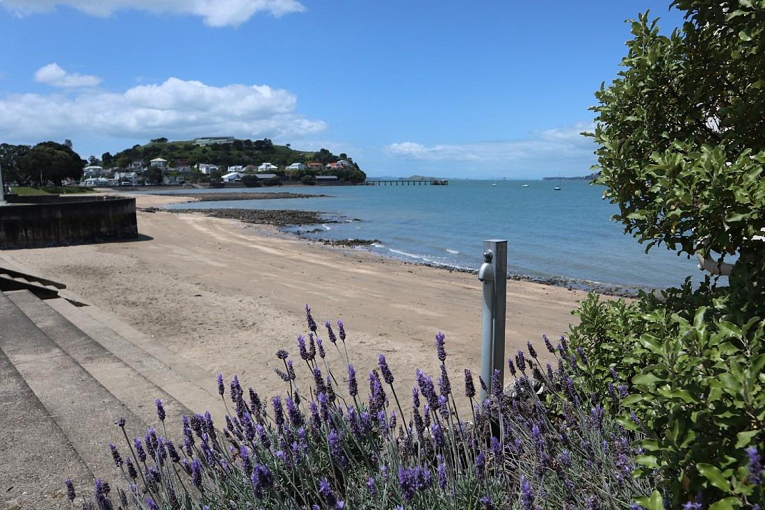Devonport Beach in Auckland