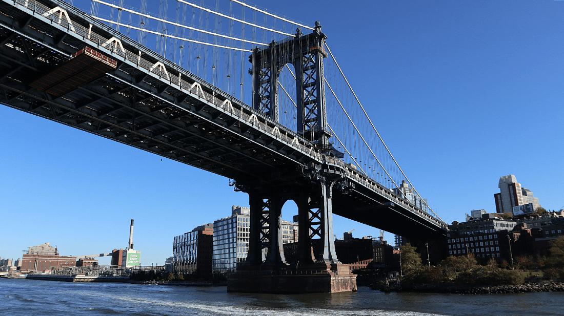 Ferry to Williamsburg in Brooklyn