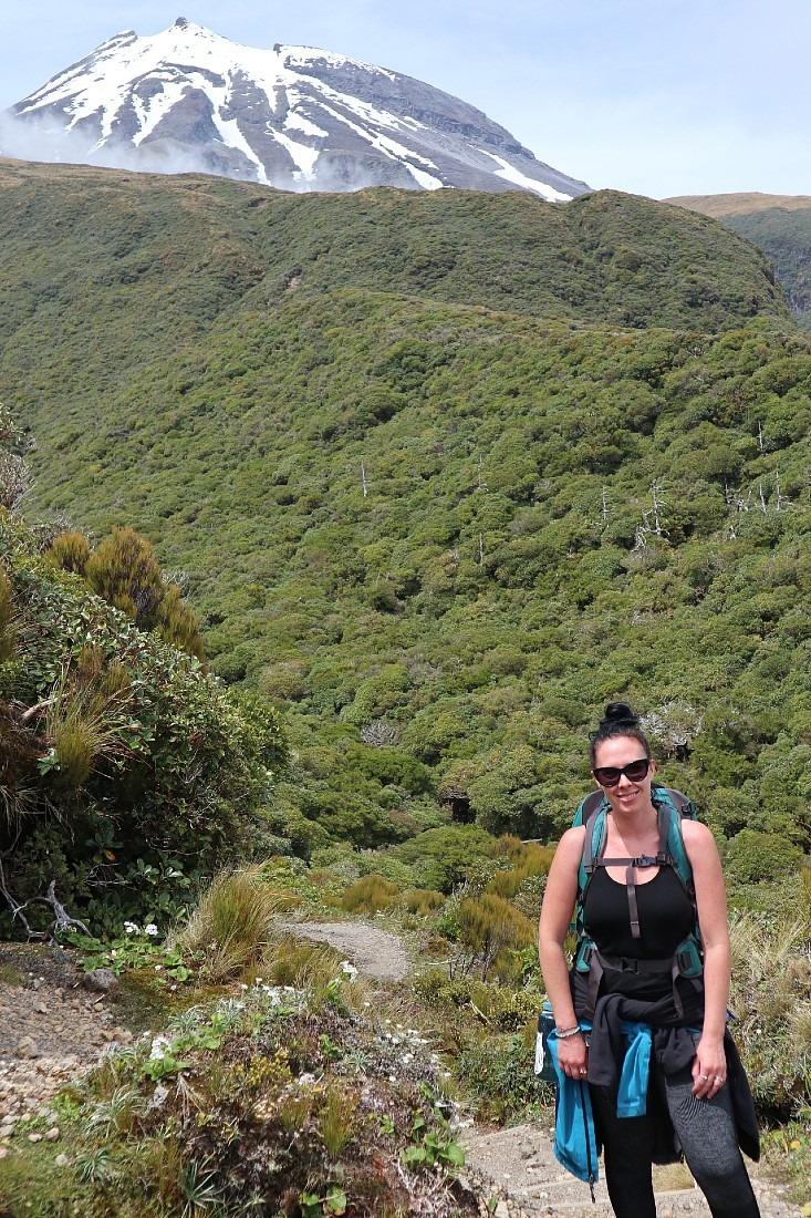 Hiking the Pouakai Circuit in Taranaki