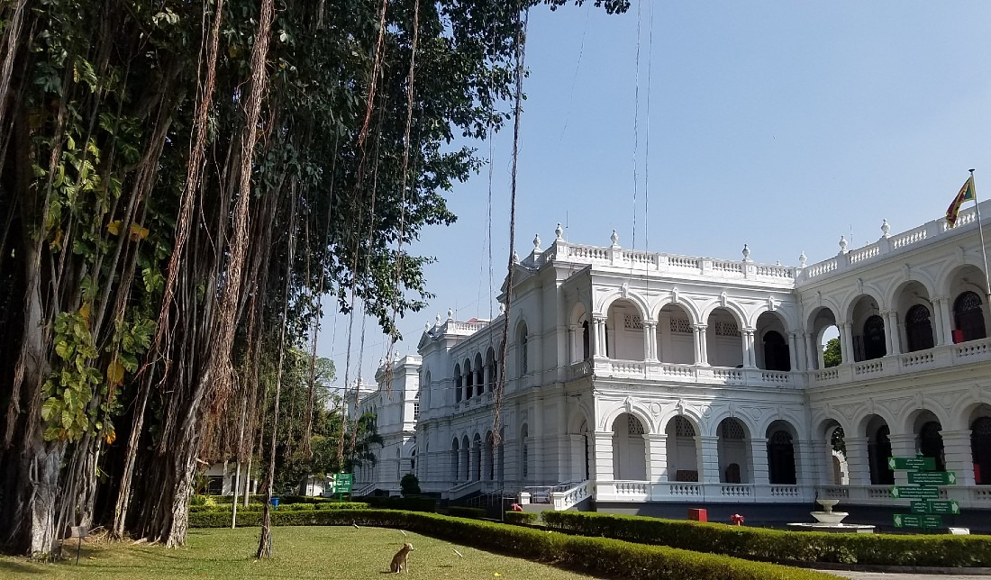 Colombo National Museum in Sri Lanka