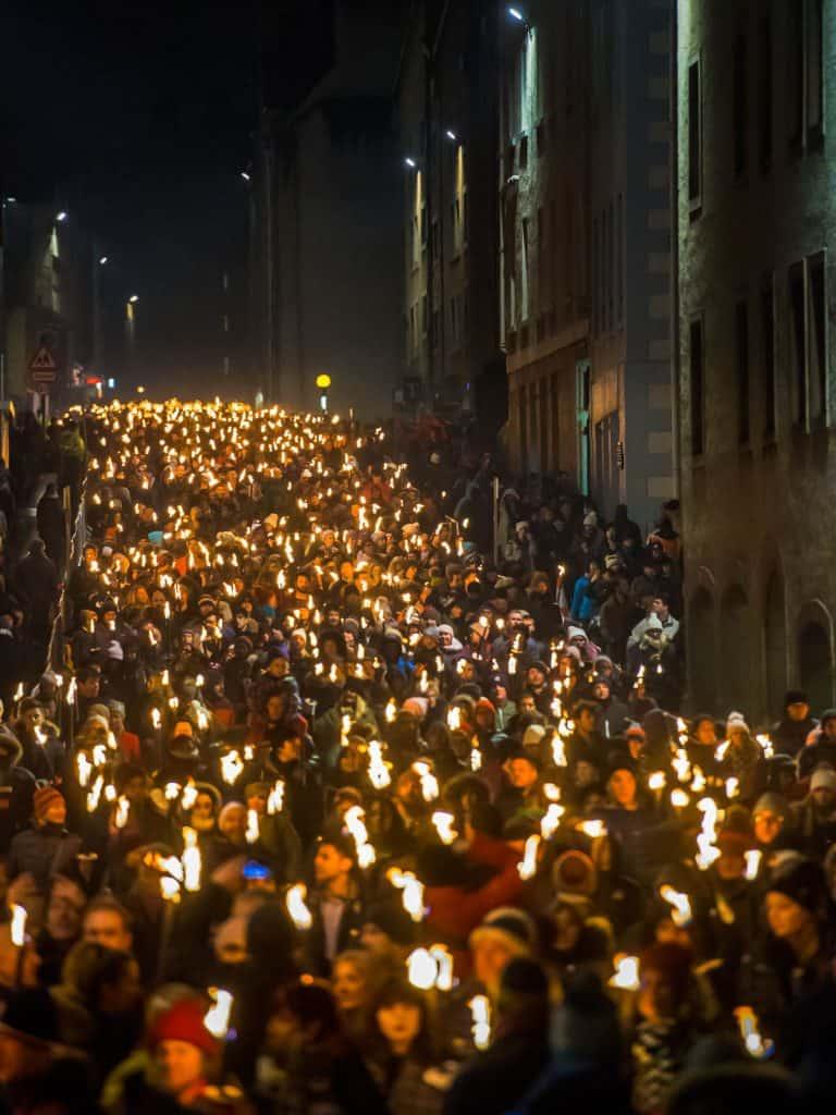 Edinburghs Hogmanay Celebrating New Years Eve In Scotland