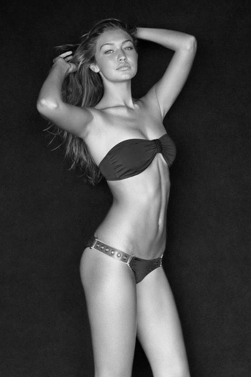 Girl Wallpaper Beach Gigi Hadid Is