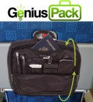 Genius Flight Bag Black & Logo