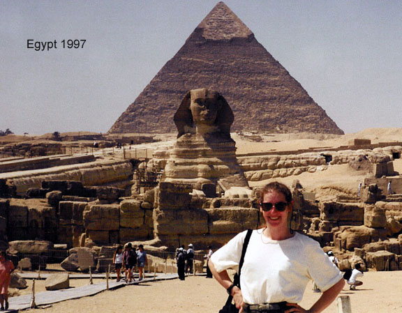 Egypt's Great Pyramids of Giza Sphinx