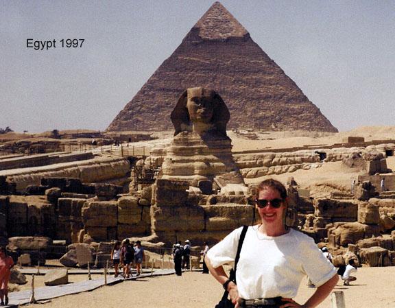Egypt's Great Pyramids of Giza Sphinx