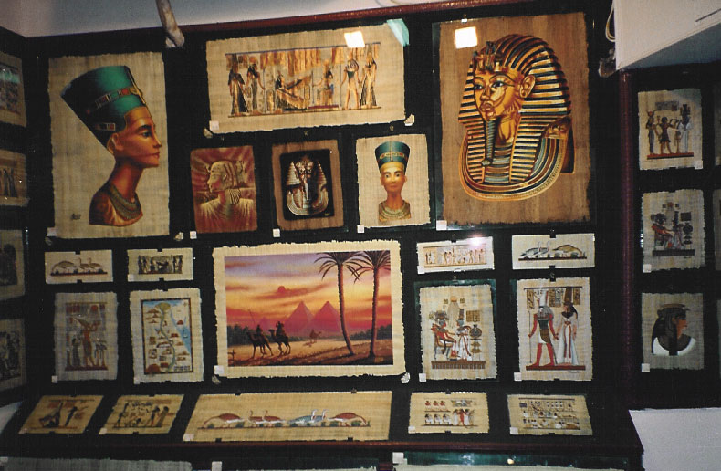 Egypt, Africa, Papyrus Paper Art