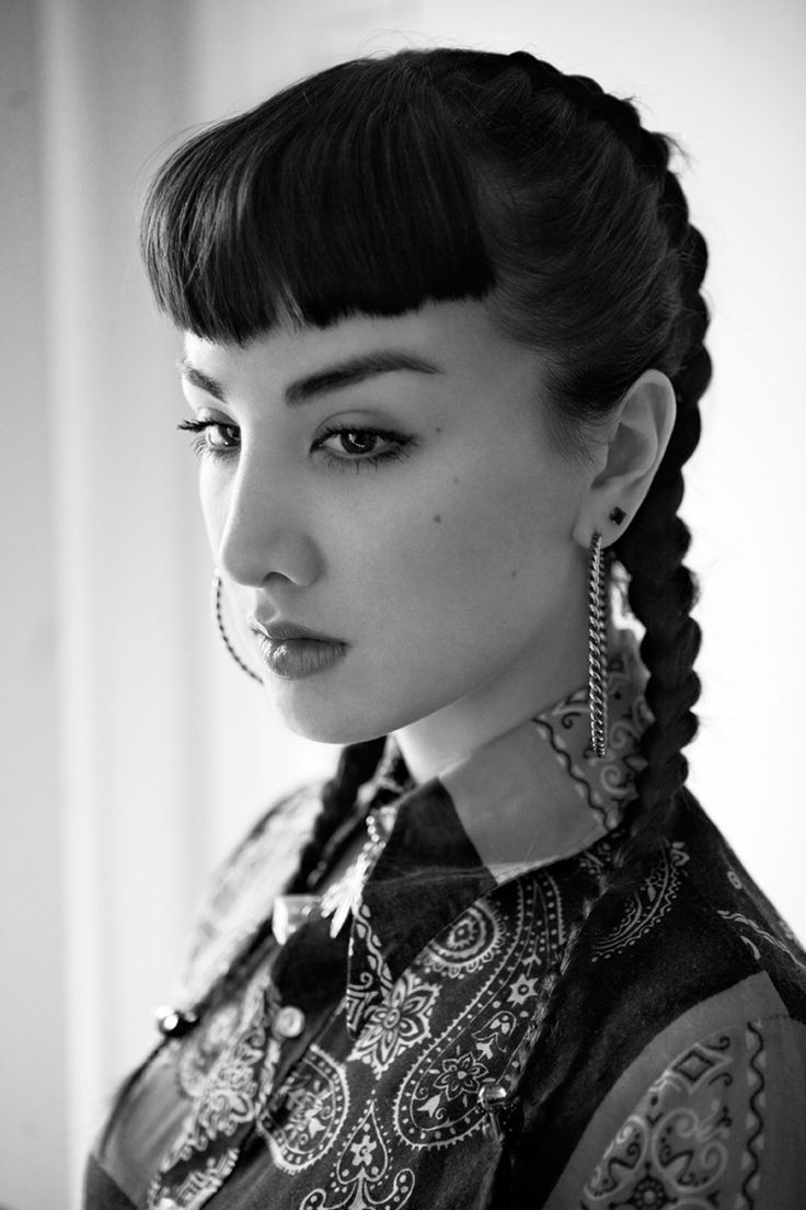 Old School Chola Hairstyles : school, chola, hairstyles, Brilliant, Advertise, Cholo, Hairstyles, World