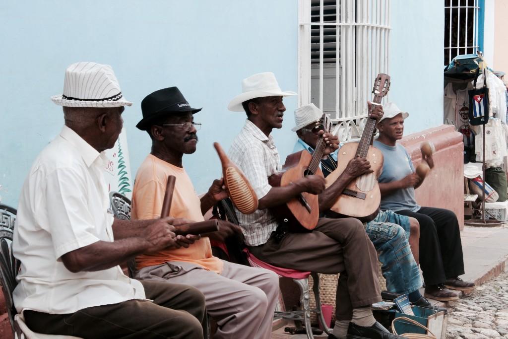 Playing-music-in-Trinidad-Cuba