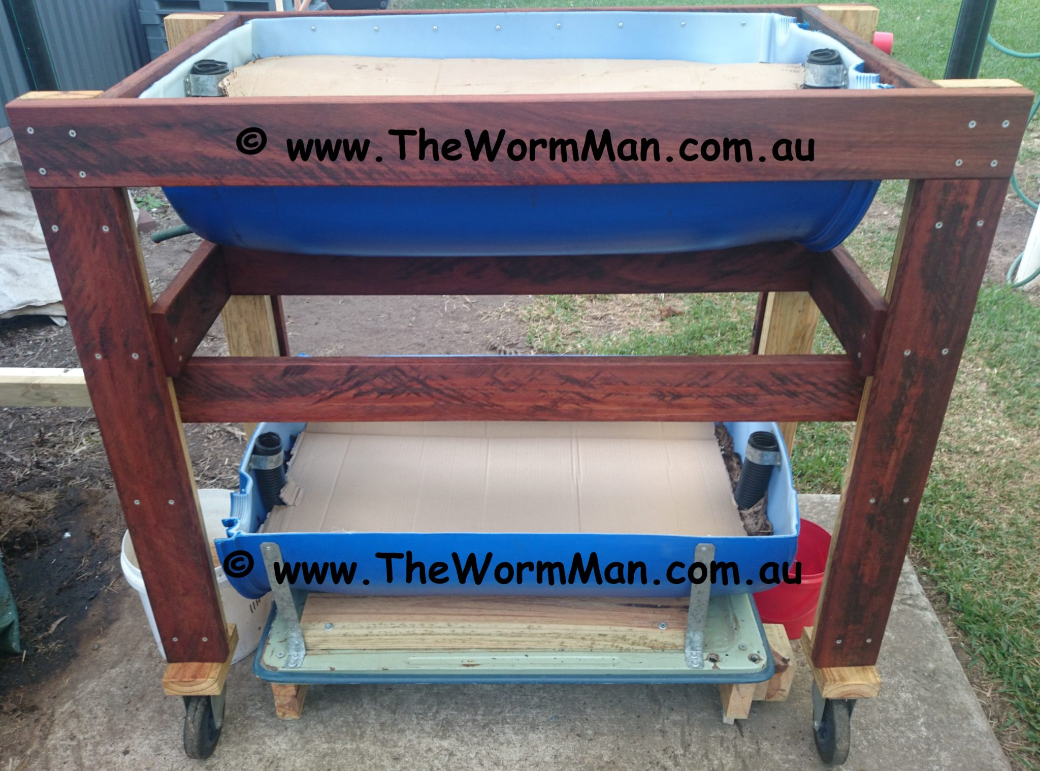 How to build a worm farm worms for worm farms fishing for Fishing worm farm