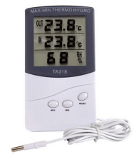 Thermometer for worm farms