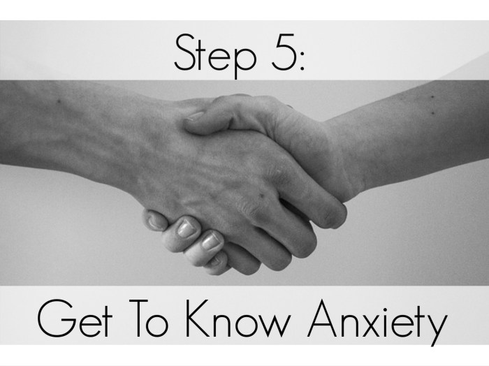 Get To Know Anxiety