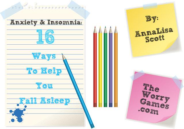 anxiety ways fall asleep