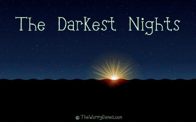 The Darkest Nights Quote Victor Hugo