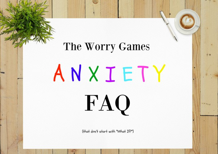 Anxiety Disorder FAQ