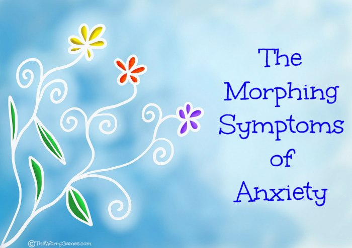 Anxiety Morphing Symptoms