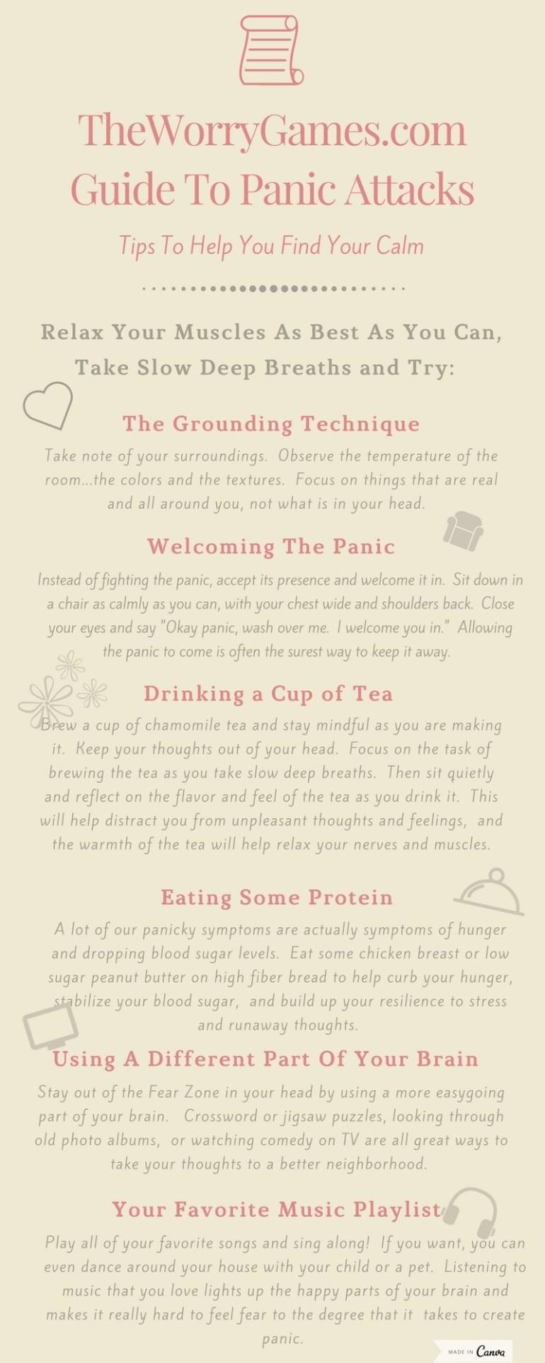 Panic Attack Infographic