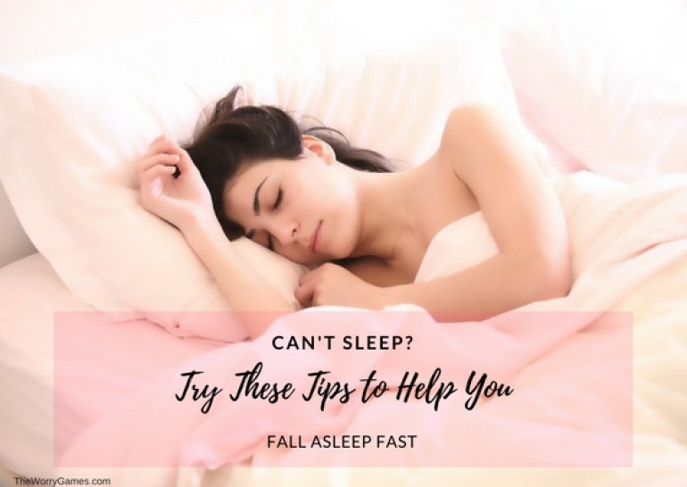 Fall asleep tips