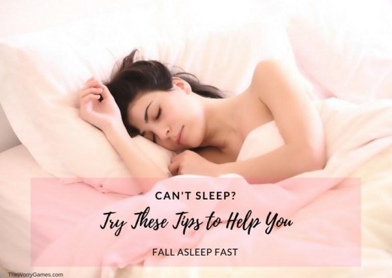 Fall asleep tips