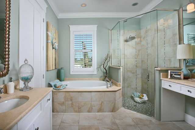 25 Awesome Beach Style Bathroom Design Ideas