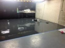 Concrete floor prep & Epoxy coatings