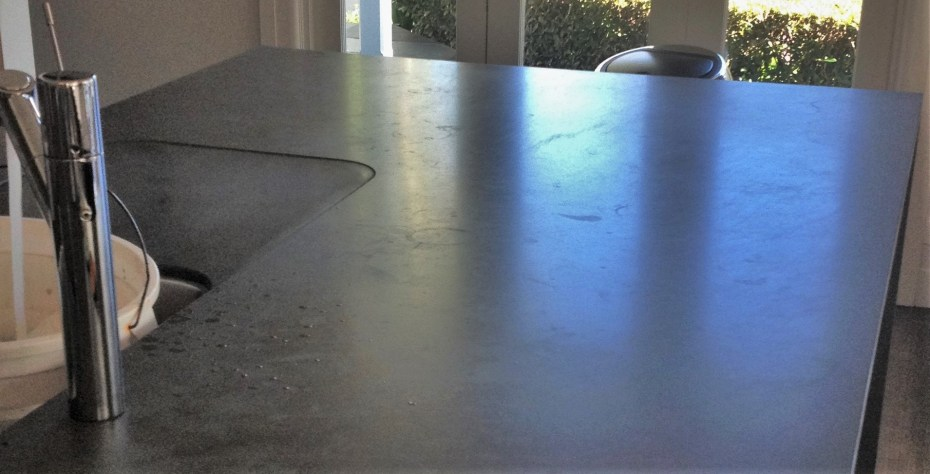 Etched Bedonia Sandstone benchtop
