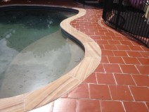 Terracotta and sandstone cleaning and sealing