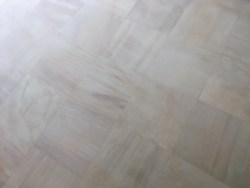 After resurfacing and sealing, the floor is easy to clean and to maintain