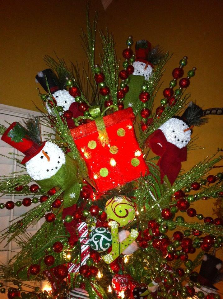55 Beautiful Christmas Tree Topper Ideas