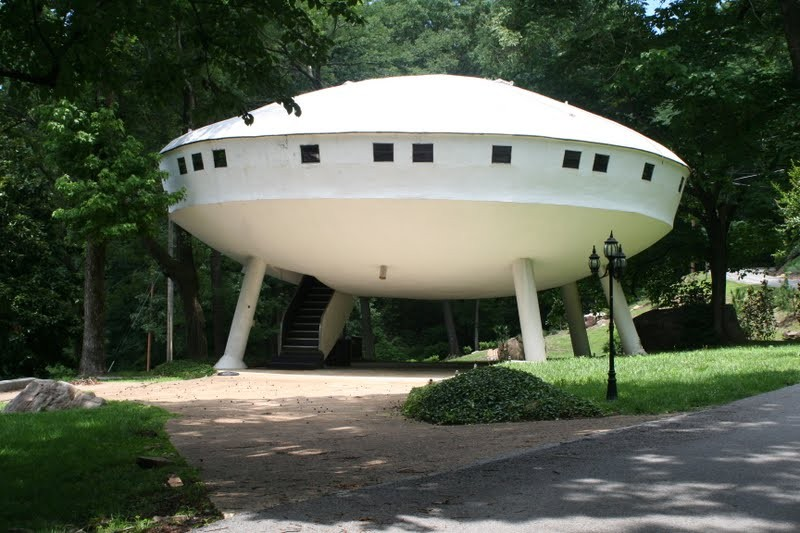 10. Space Ship House, Chattanooga, Tennessee $119,000