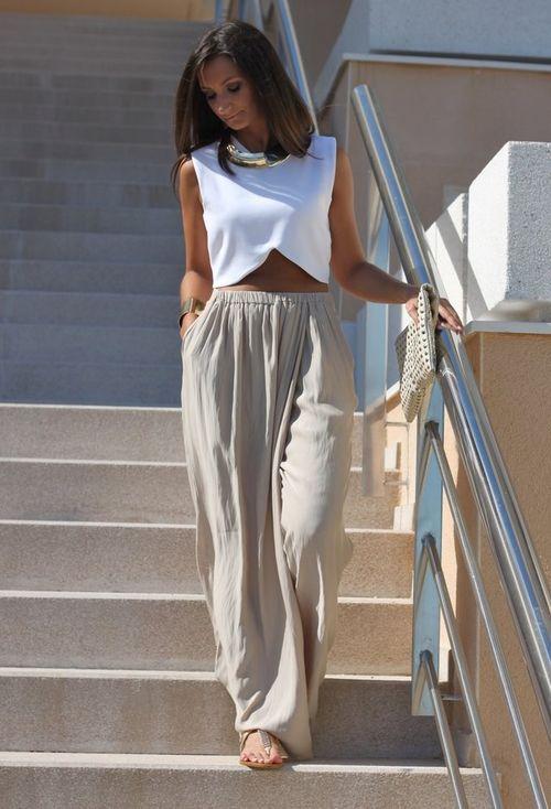 Stylish Palazzo Pants Inspiration The Wow Style