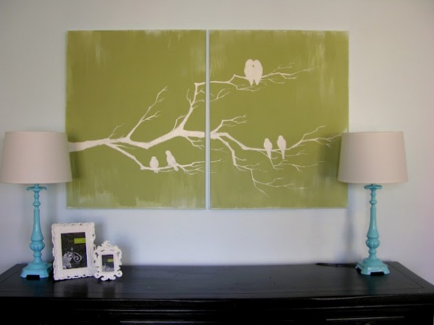 25 Creative And Easy Diy Canvas Wall Art Ideas The Wow Style