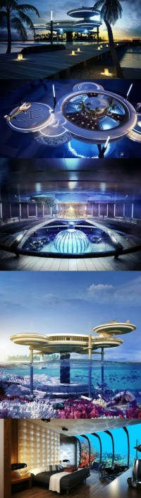 Dubai underwater hotel hydropolis prices