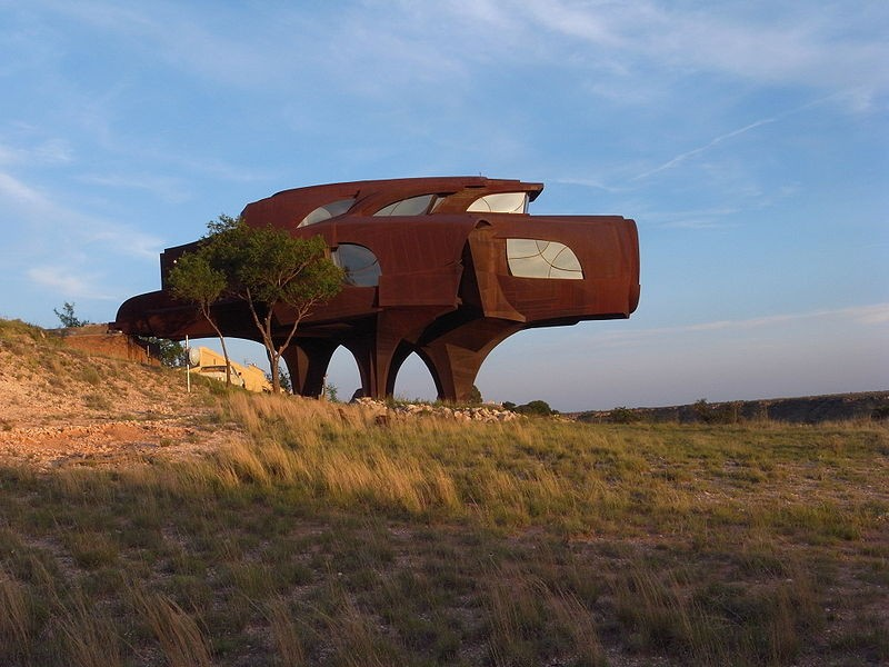 The Steel House, Ransom Canyon,Texas