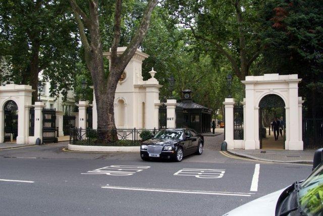 7.Kensington Palace Gardens, London, U.K.