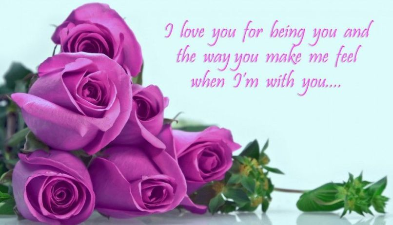 Stunning Love Quotes With Beautiful Flowers Gallery Images For
