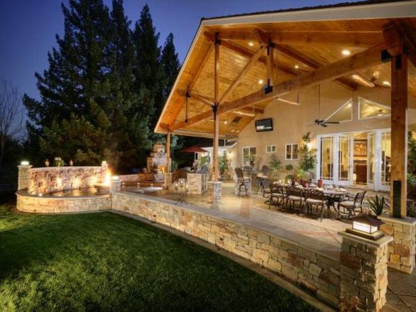 covered outdoor living space 35 Outdoor Living Space For Your Home – The WoW Style