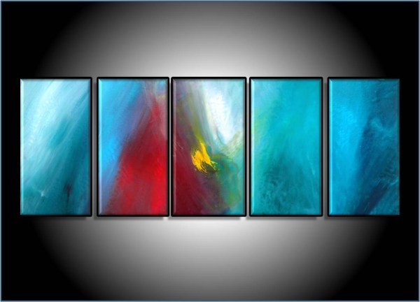 Painting Modern Abstract Art Desktop Images