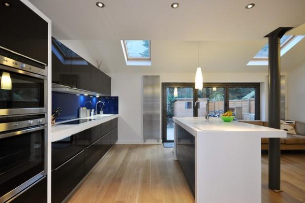 30 Monochrome Kitchen Design Ideas – The WoW Style