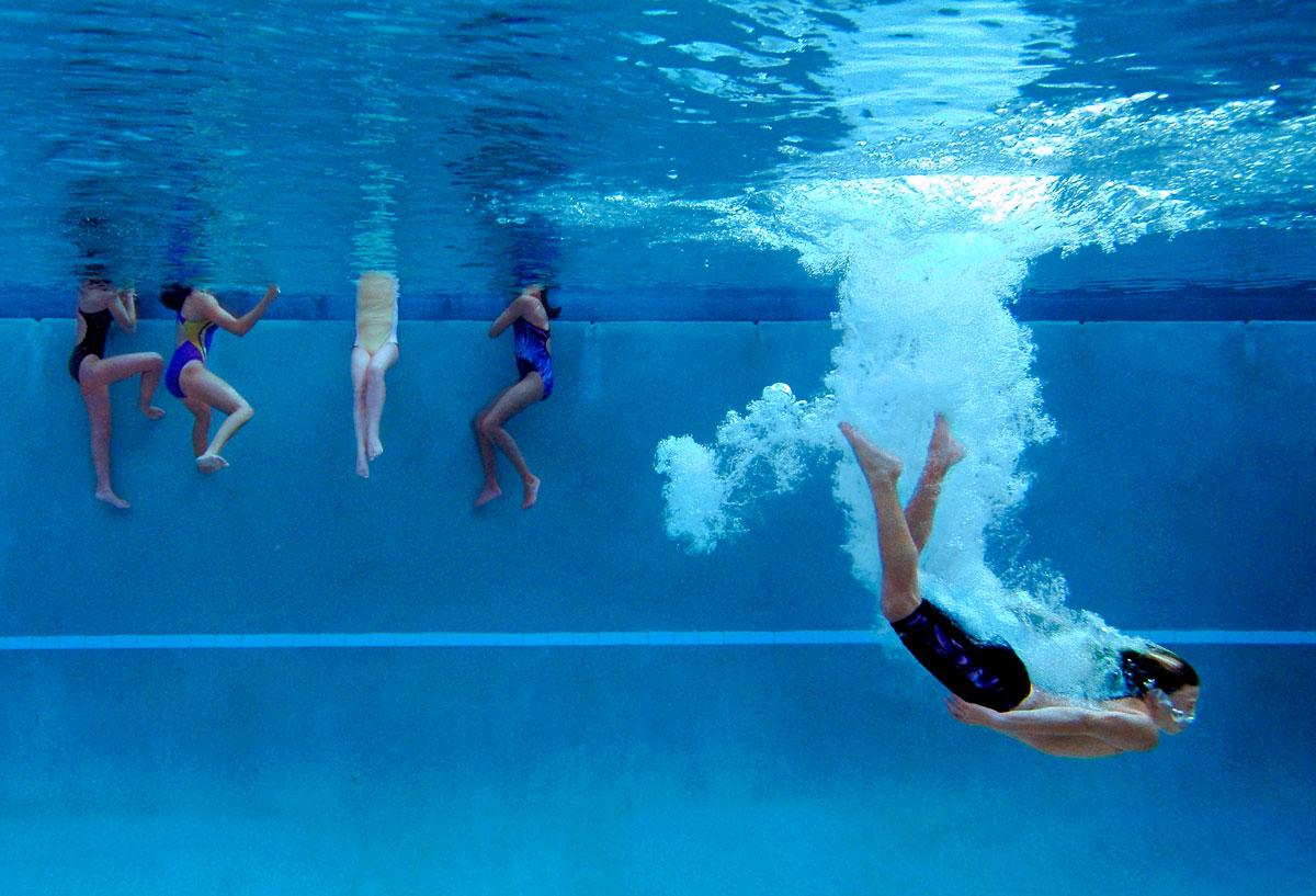 Underwater Diving Practice