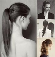 beautiful ponytail