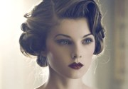 classic and vintage retro hairstyles