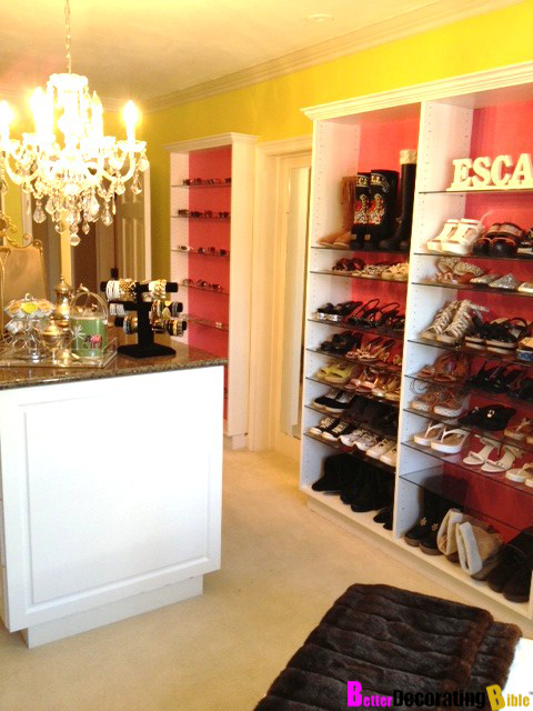 Gorgeous Colorful Walk In Closet Designs The Wow Style