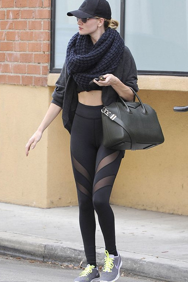 Sexiest Celebrity Workout Outfits